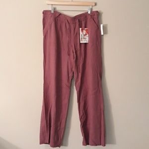 Rewind NEW Pink Linen Pant Size XL